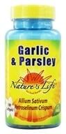 Nature's Life - Garlic & Parsley - 100 Softgels (040647003248)