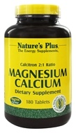 Nature's Plus - Calcitron 2:1 Ratio Magnesium to Calcium - 180 Tablets - $22.63