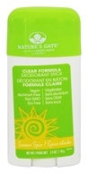 Nature's Gate - Clear Formula Deodorant Stick Summer Spice - 2.5 oz.