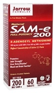 Jarrow Formulas - SAMe 200 - 60 Tablets - $23.95