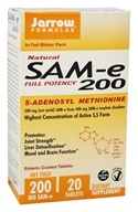 Jarrow Formulas - SAMe 200 - 20 Tablets - $10.79