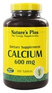 Nature's Plus - Calcium 600 mg. - 180 Tablets - $20.66