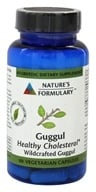Image of Nature's Formulary - Guggul - 60 Vegetarian Capsules