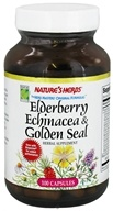 Nature's Herbs - Elderberry Echinacea-Golden Seal - 100 Capsules (030054001166)