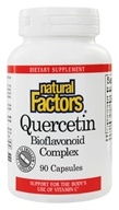 Image of Natural Factors - Quercetin Bioflavonoid Complex - 90 Capsules