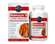 Image of Garden of Life - Wobenzym N Healthy Inflammation and Joint Support - 400 Enteric-Coated Tablets (Formerly distributed by Mucos)