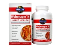 Garden of Life - Wobenzym N Healthy Inflammation and Joint Support - 400 Enteric-Coated Tablets (Formerly distributed by Mucos) by Garden of Life