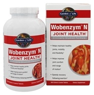 Image of Garden of Life - Wobenzym N Healthy Inflammation and Joint Support - 800 Enteric-Coated Tablets (Formerly distributed by Mucos)