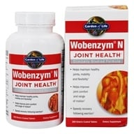 Garden of Life - Wobenzym N Healthy Inflammation and Joint Support - 200 Enteric-Coated Tablets (formerly distributed by Mucos), from category: Nutritional Supplements