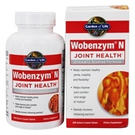 Image of Garden of Life - Wobenzym N Healthy Inflammation and Joint Support - 200 Enteric-Coated Tablets (formerly distributed by Mucos)