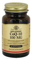 Solgar - CoQ-10 Enhanced Absorption 100 mg. - 30 Softgels, from category: Nutritional Supplements