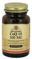 Solgar - CoQ-10 Enhanced Absorption 100 mg. - 30 Softgels