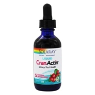 Solaray - CranActin Syrup Natural Cranberry Flavor - 2 oz.