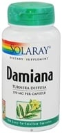 Solaray - Damiana Leaves 370 mg. - 100 Capsules