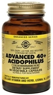 Solgar - Advanced 40+ Acidophilus - 60 Vegetarian Capsules