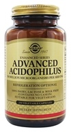 Image of Solgar - Advanced Acidophilus - 250 Vegetarian Capsules