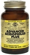 Solgar - Advanced Acidophilus Plus - 60 Vegetarian Capsules