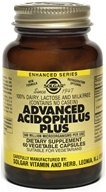 Image of Solgar - Advanced Acidophilus Plus - 60 Vegetarian Capsules