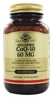 Solgar - MegaSorb CoQ-10 60 mg. - 120 Softgels, from category: Nutritional Supplements