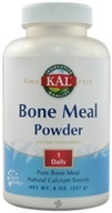 Kal - Bone Meal Powder - 8 oz., from category: Nutritional Supplements