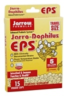 Jarrow Formulas - Jarro-Dophilus EPS Enhanced Probiotic System - Travel Size 5 Billion CFU - 15 Vegetable Capsule(s)