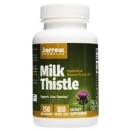 Image of Jarrow Formulas - Milk Thistle Standardized Silymarin Extract 30:1 150 mg. - 100 Capsules