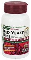 Nature's Plus - Herbal Actives Extended Release Red Yeast Rice 600 mg. - 30 Tablets by Nature's Plus