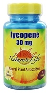Nature's Life - Lycopene 30 mg. - 30 Tablets, from category: Nutritional Supplements