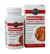 Garden of Life - Wobenzym N Healthy Inflammation and Joint Support - 100 Enteric-Coated Tablets Formerly distributed by Mucos by Garden of Life