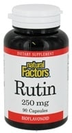Natural Factors - Rutin 250 mg. - 90 Capsules