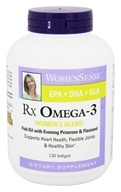 Natural Factors - WomenSense RxOmega-3 Women's Blend - 120 Softgels