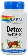 Solaray - Detox Blend Sp-25 Algin - 100 Capsules