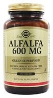Solgar - Alfalfa 600 mg. - 250 Tablets, from category: Herbs