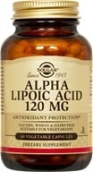 Solgar - Alpha Lipoic Acid 120 mg. - 60 Vegetarian Capsules, from category: Nutritional Supplements