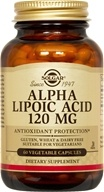 Image of Solgar - Alpha Lipoic Acid 120 mg. - 60 Vegetarian Capsules