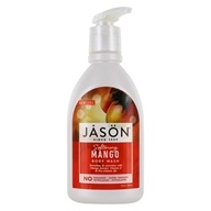 Image of Jason Natural Products - Satin Shower Body Wash Mango - 30 oz.