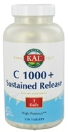 Image of Kal - C 1000+ Sustained Release - 250 Tablets