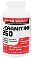 Jarrow Formulas - L-Carnitine 250 mg. - 250 Vegetarian Capsules by Jarrow Formulas