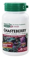 Nature's Plus - Herbal Actives Chasteberry 150 mg. - 60 Vegetarian Capsules by Nature's Plus