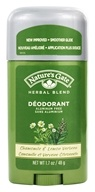 Image of Nature's Gate - Deodorant Stick Organics Herbal Blend Chamomile & Lemon Verbena - 1.7 oz.