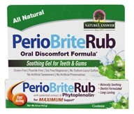 Nature's Answer - PerioRub Soothing Gel For Natural Relief From Tooth & Gum Discomfort - 0.5 oz. by Nature's Answer