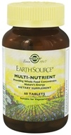 Solgar - Earth Source Multi-Nutrient Providing Whole Foods Concentrates - 60 Tablets