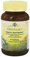 Solgar - Earth Source Multi-Nutrient Providing Whole Foods Concentrates - 60 Tablets - $17.60