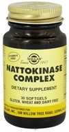 Solgar - Nattokinase Complex Softgels - 30 Softgels CLEARANCED PRICED (033984017993)