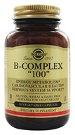 Solgar - B-Complex 100 - 50 Vegetarian Capsules, from category: Vitamins & Minerals