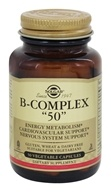 Solgar - B-Complex 50 - 50 Vegetarian Capsules, from category: Vitamins & Minerals