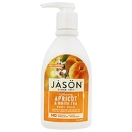 JASON Natural Products - Satin Shower Body Wash Apricot - 30 oz.
