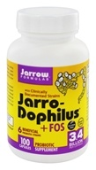 Jarrow Formulas - Jarro-Dophilus + FOS - 100 Capsules, from category: Nutritional Supplements