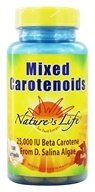Nature's Life - Mixed Carotenoids 25,000 - 100 Softgels, from category: Vitamins & Minerals