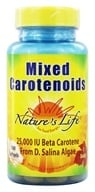 Image of Nature's Life - Mixed Carotenoids 25,000 - 100 Softgels